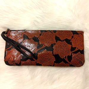 3/$20 Sale, Leather clutch EUC!